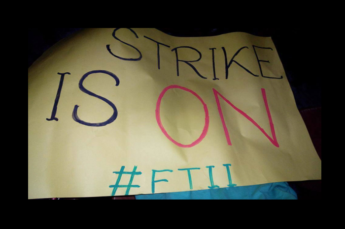 July 2015: Strike at Film and Television Institute, Pune