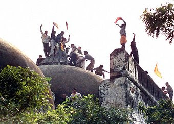 Babri mosque demolition
