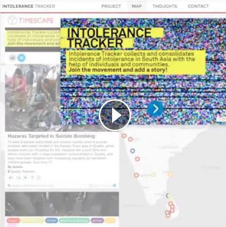 Intolerance tracker