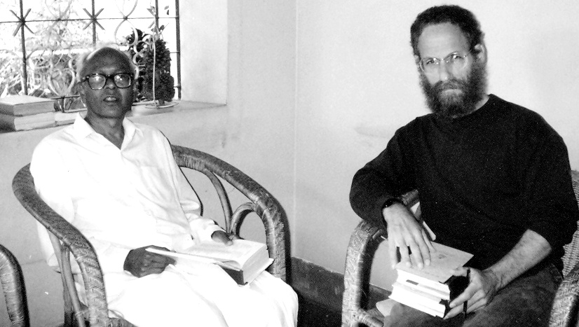 T._V._Venkatachala_Sastry_with_Indologist_Sheldon_Pollock