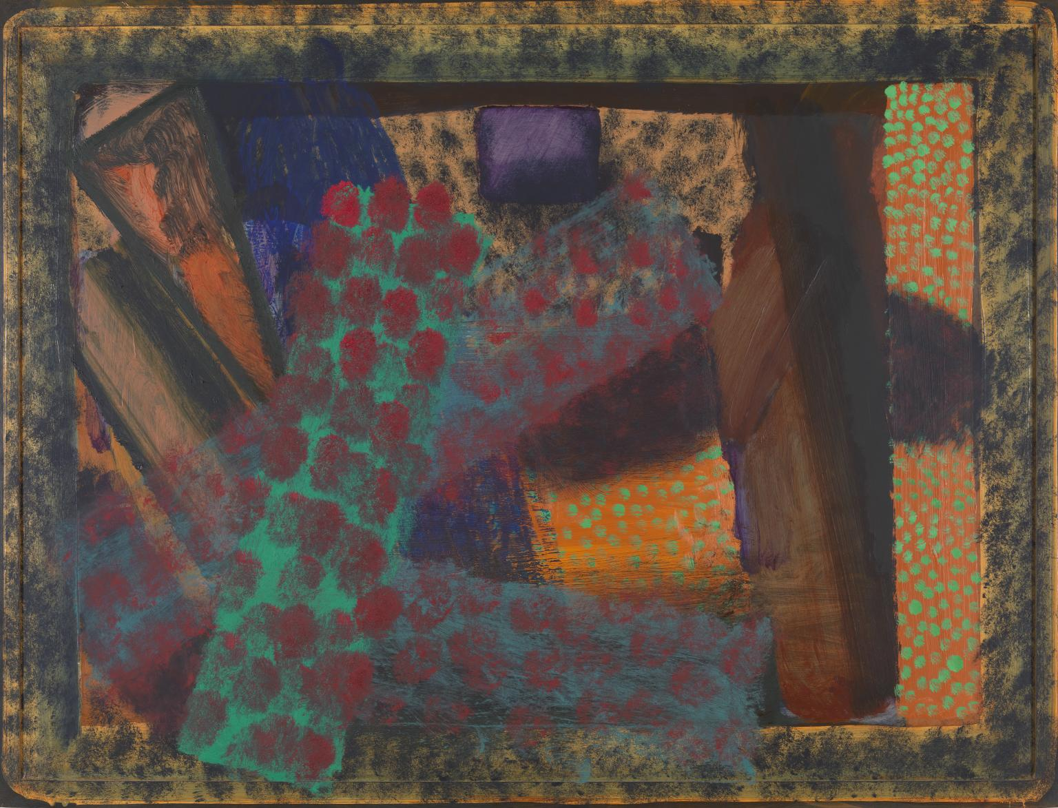 Dinner at Smith Square 1975-9 Howard Hodgkin born 1932 Purchased 1980 http://www.tate.org.uk/art/work/T03188