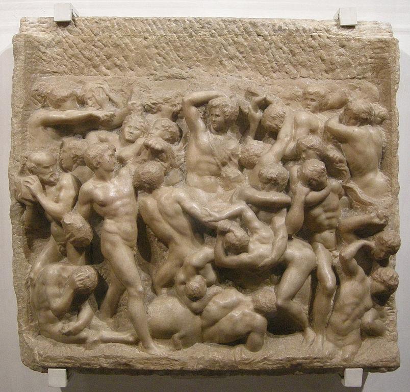 804px-Michelangelo,_centauromachia,_1492_ca._01