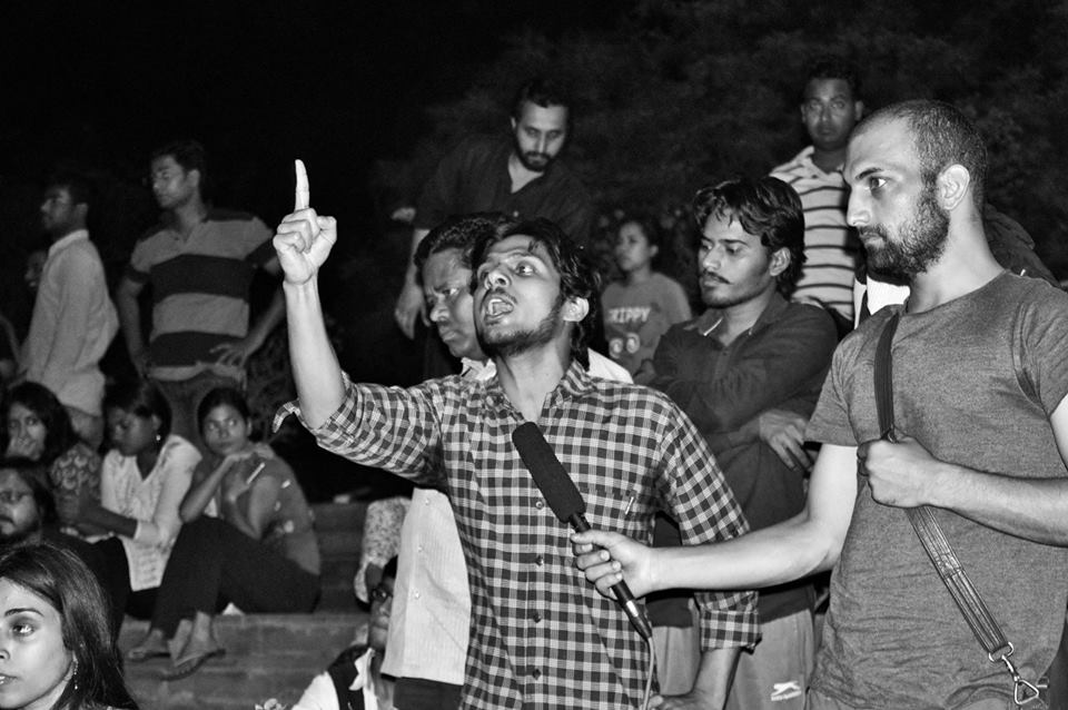 JNU Students on Indefinite Hunger Strike