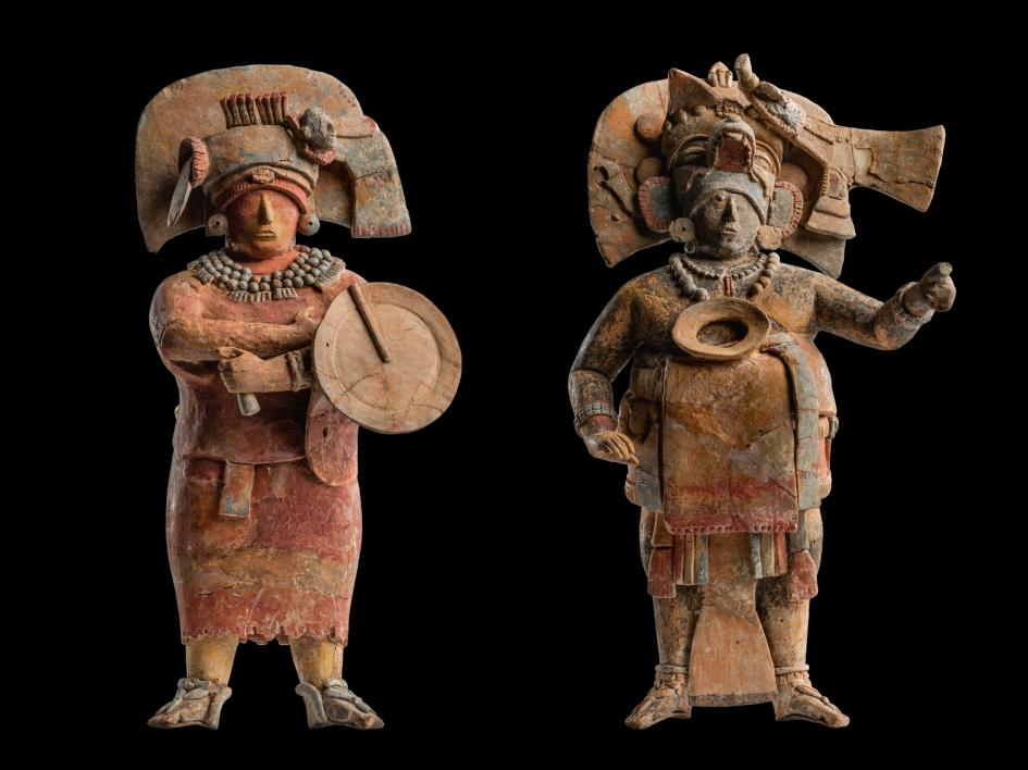 Burial figurine from Calakmul, Mexico, ca. 7th c. / National Geographic