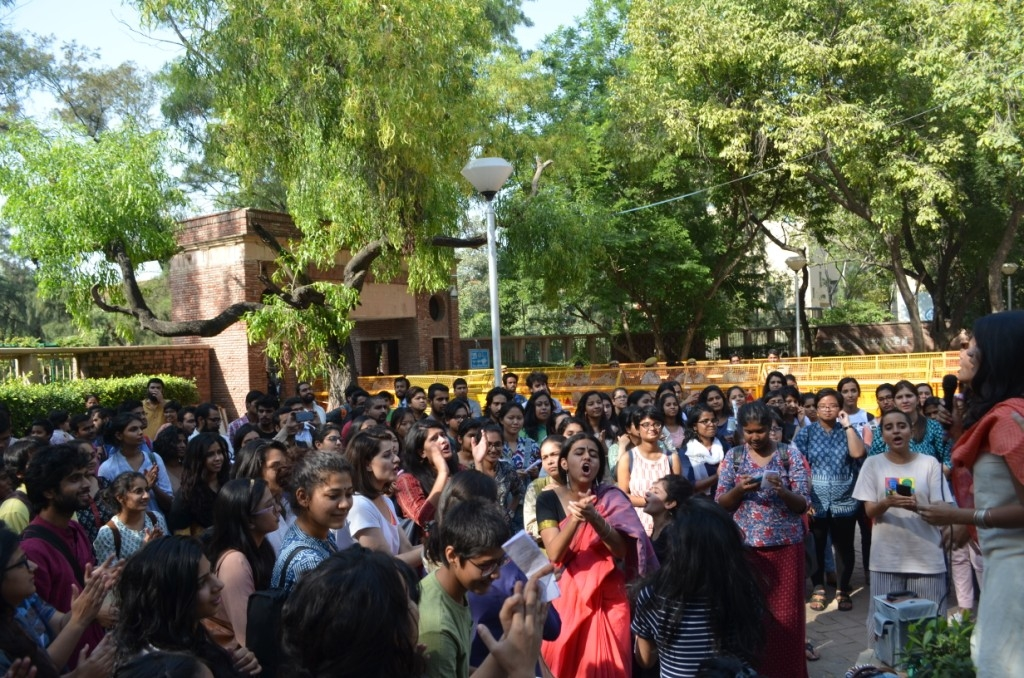 Students' Collective Pinjra Tod Fights Back ABVP
