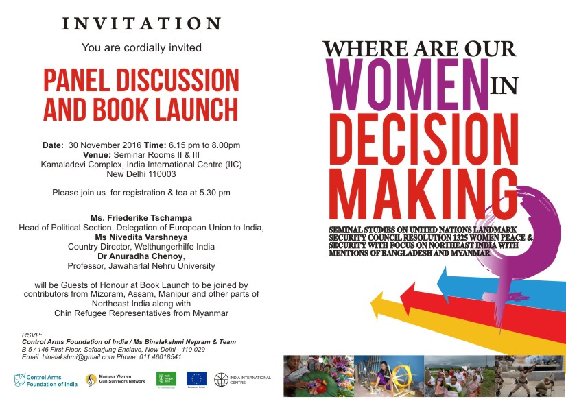 Where Are Our Women In Decision Making Panel Discussion Book