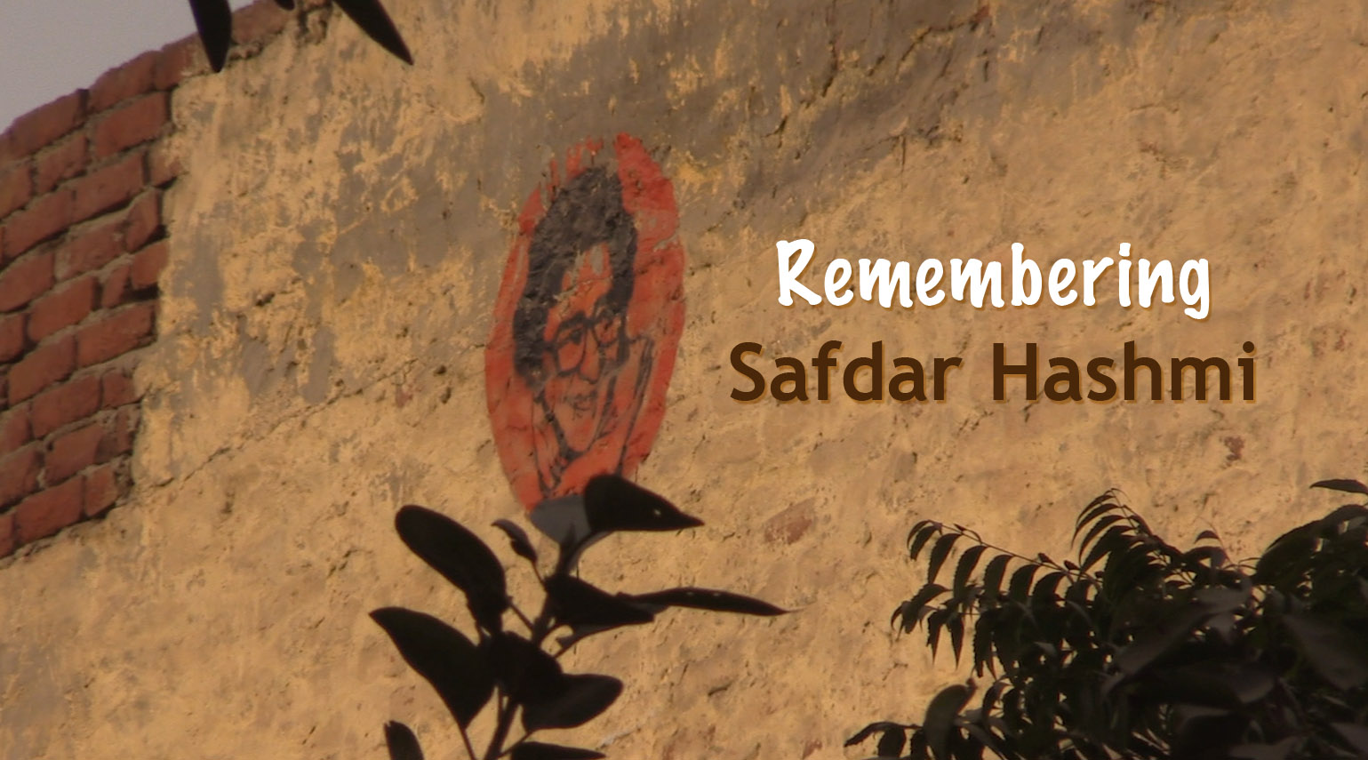Remembering Safdar Hashmi (12 April 1954 – 2 January 1989)
