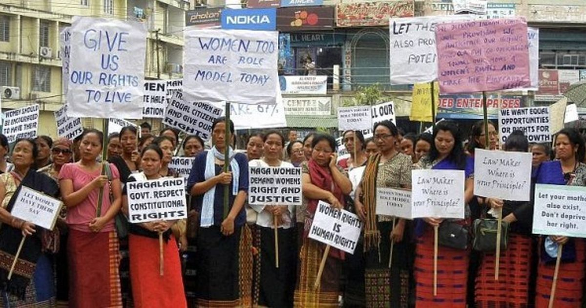 Reservations for Naga Women in Urban Local Bodies is a Must!