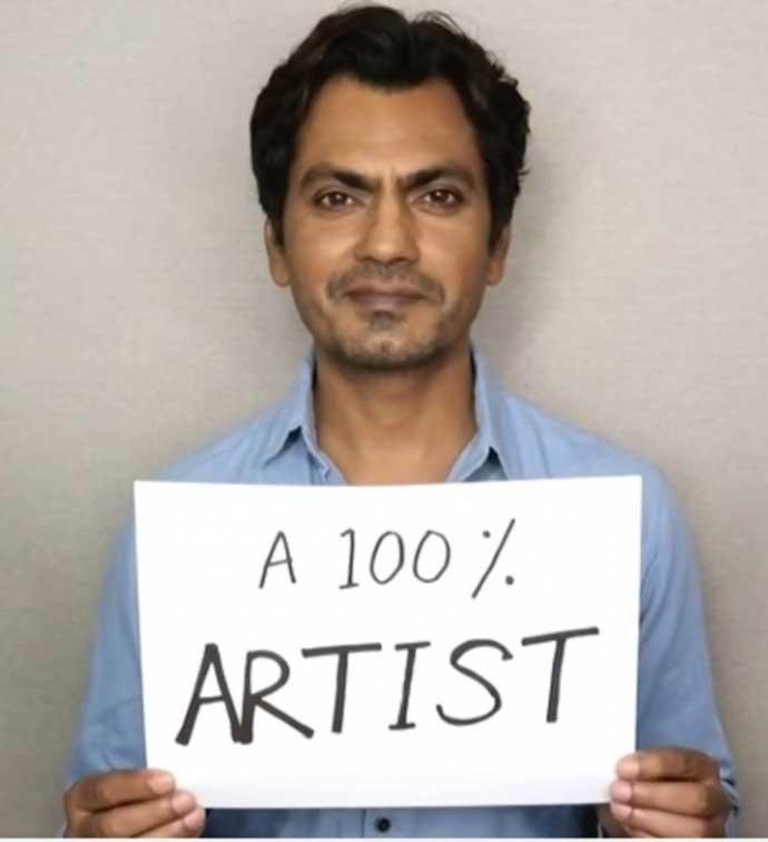I am 16.66% all religions, 100% an artist: Actor Nawazuddin Siddiqui