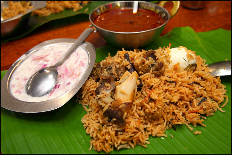 Memories of Meat – A Mutton Biryani for Christmas Feast