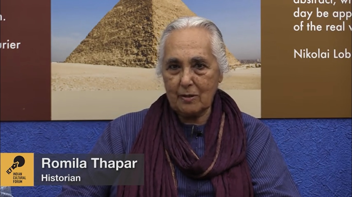 Roundtable with Romila Thapar