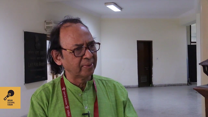 Mohandas Nemishrey Discusses Dalit Participation in Sahitya Akademi