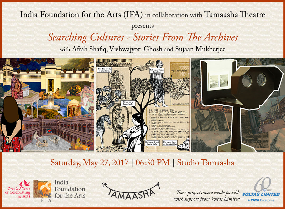 IFA @ Mumbai: Searching Cultures – Stories From The Archives