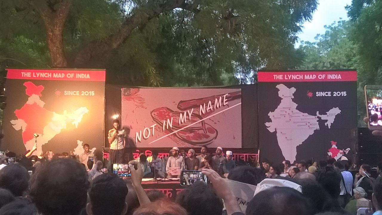 जंतर मंतर पर गूंजी आवाज, मेरे धर्म के नाम पर हत्या नहीं | Jantar Mantar Resonates with #NotInMyName