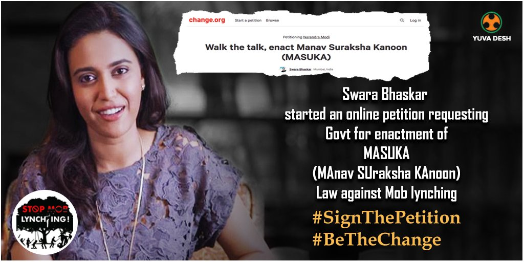 Needed A Manav Suraksha Kanoon: Sign My Petition, But Read it First!