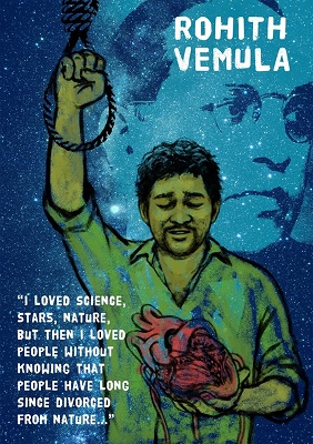 "Teachers and Social Activists Ask the Government to Enact the ""Rohith Act"""