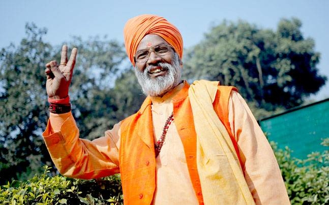 Who was Sakshi Maharaj Defending?