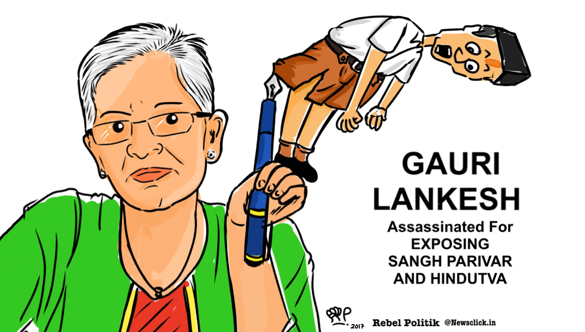 """The murder of Gauri Lankesh follows on the heels of the murders of Narendra Dabholkar, Govind Pansare and M M Kalburgi…"""