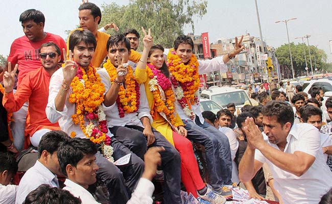 In the Bazaar of Democracy: DUSU Elections