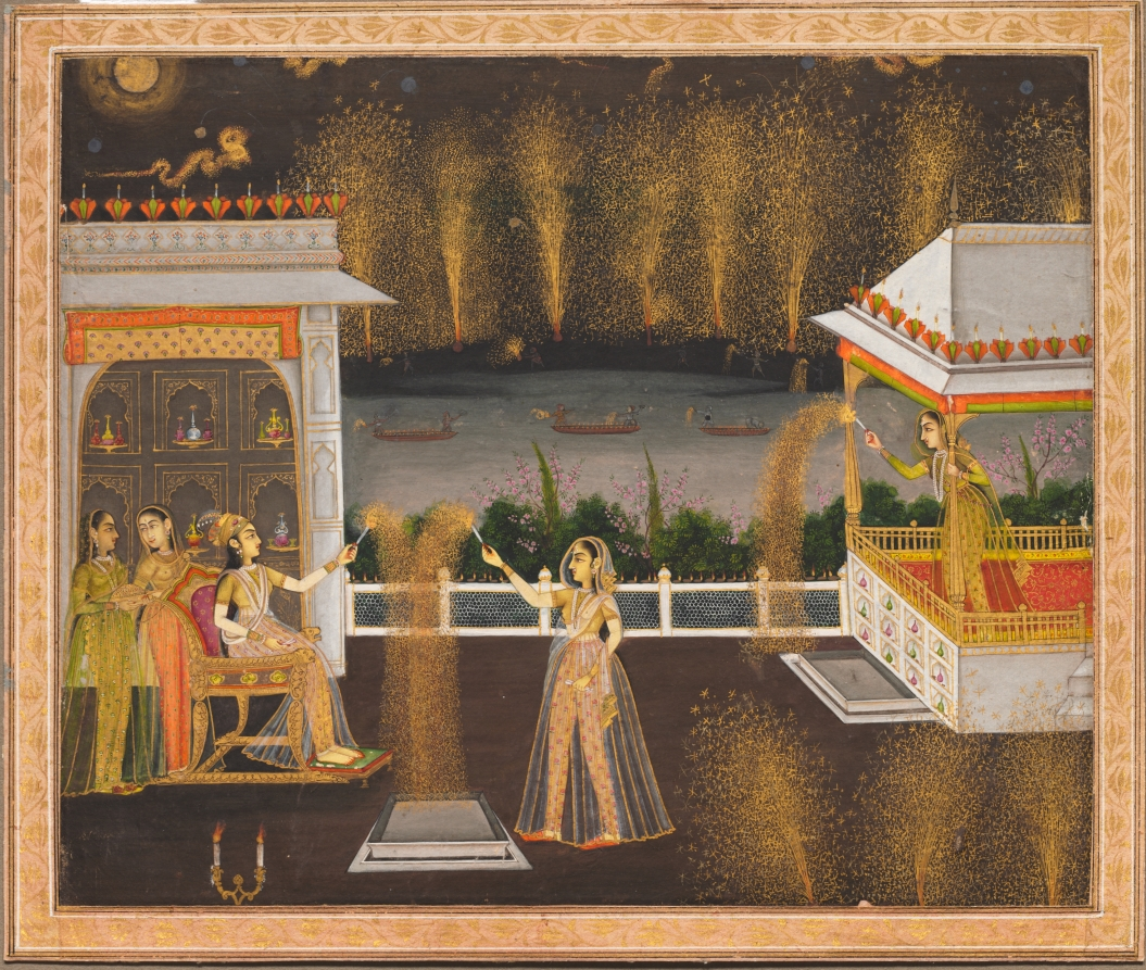 Fireworks and Firearms: The Festival of Lights in the Mughal Court