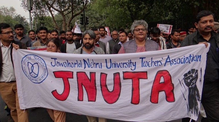 JNU Teachers Take on the Vice Chancellor: 4 day Public Hearing on Charges Against Him Begins Tomorrow