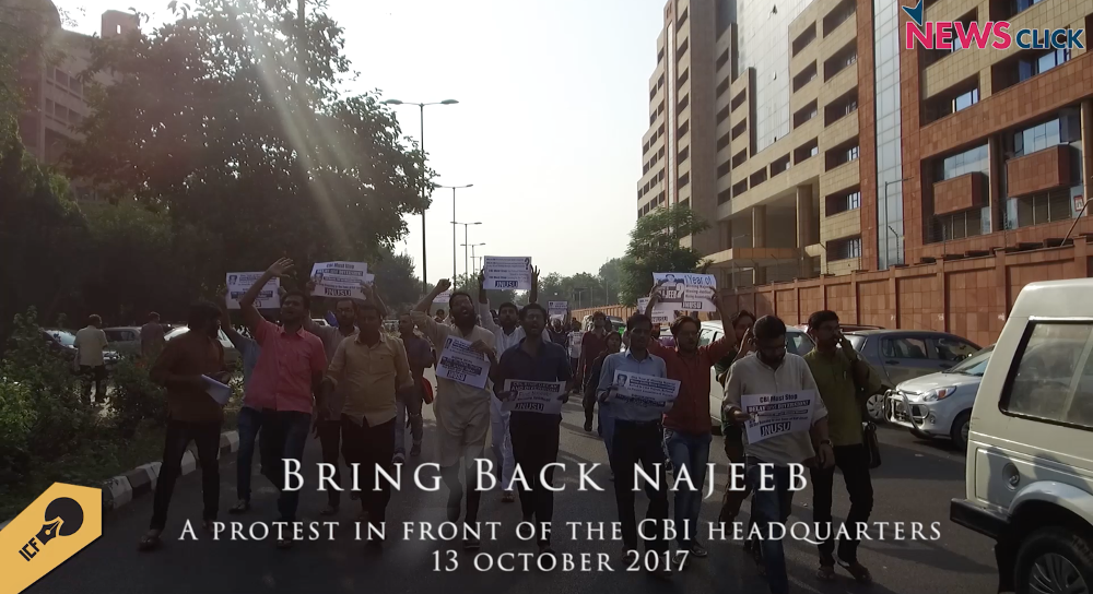 What do Najeeb's Mother, Students, and Activists Have to Say About CBI's Inaction Over the Missing Student?