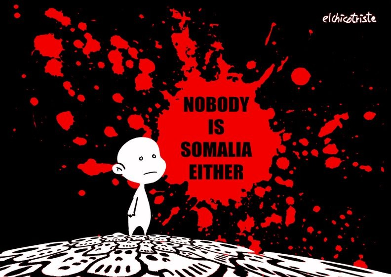 Cartoonists Respond to Somalia Massacre as the World Fails to #StandWithSomalia