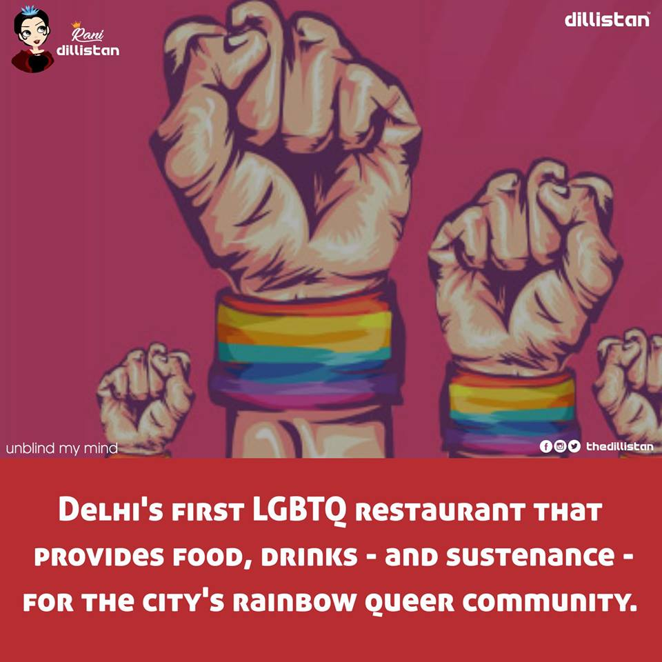Q-cafe: A Queer Friendly Space in Delhi