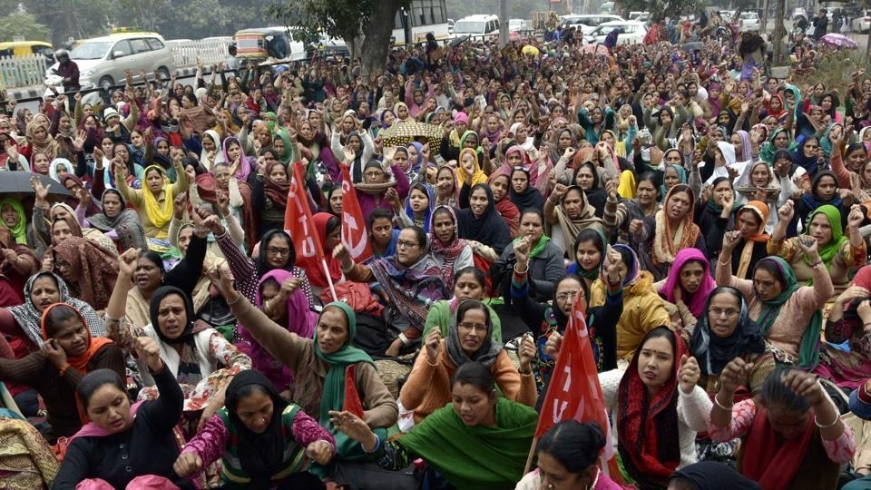 Anganwadi Workers Call Off Their Protest After Government Agrees to Their Demands