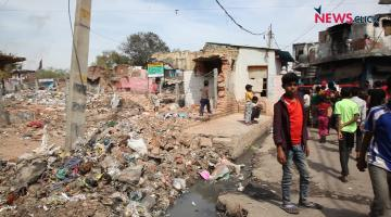 Kathputli Colony Comes Crumbling Down