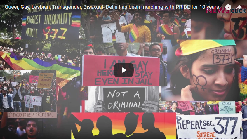 Queer, Gay, Lesbian, Transgender, Bisexual- Delhi has been Marching with PRIDE for 10 Years