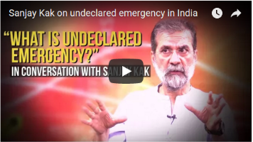 Sanjay Kak on the Undeclared Emergency in India and His Edited Book Witness