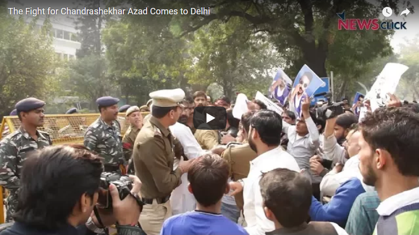 The Fight for Chandrashekhar Azad Comes to Delhi