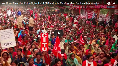 We Cook, Clean for Entire School, at 1,000 a Month: Mid-Day Meal Cooks at Mahapadav