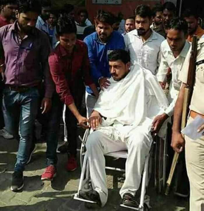 Dalit Army Leader Chandrashekar's Health Deteriorates, in Meerut Hospital