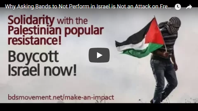Why Asking Bands to Not Perform in Israel is Not an Attack on Freedom of Speech and Expression
