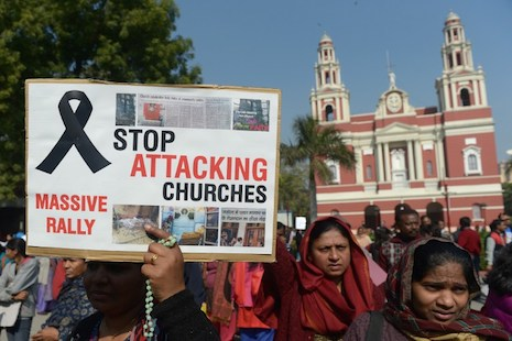 A Fearful Xmas for Christians in India