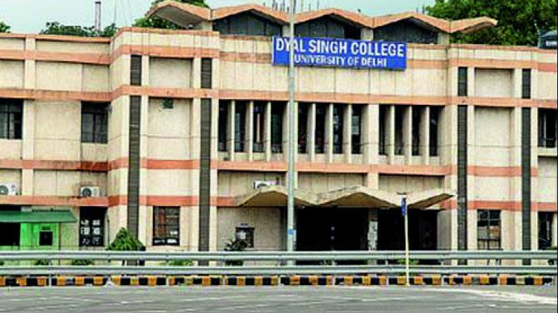 Why Change the Name of Dyal Singh College
