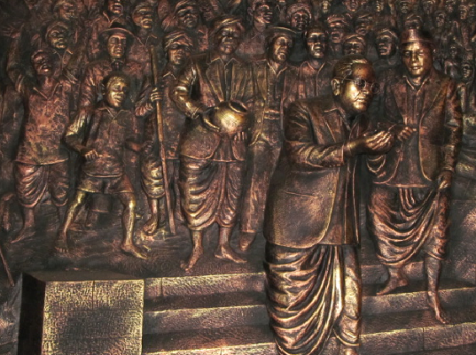 Did you know that Babasaheb Ambedkar burnt the Manusmriti on Christmas, in 1927?