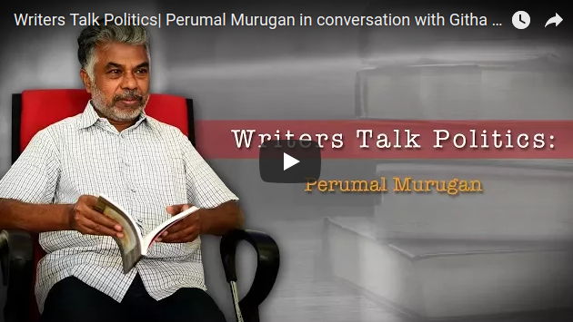 """Poetry is my refuge"": Perumal Murugan"