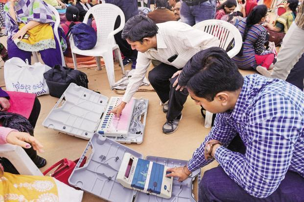 In Four Gujarat Seats EC Admits Mismatch Between Paper Trail and EVM