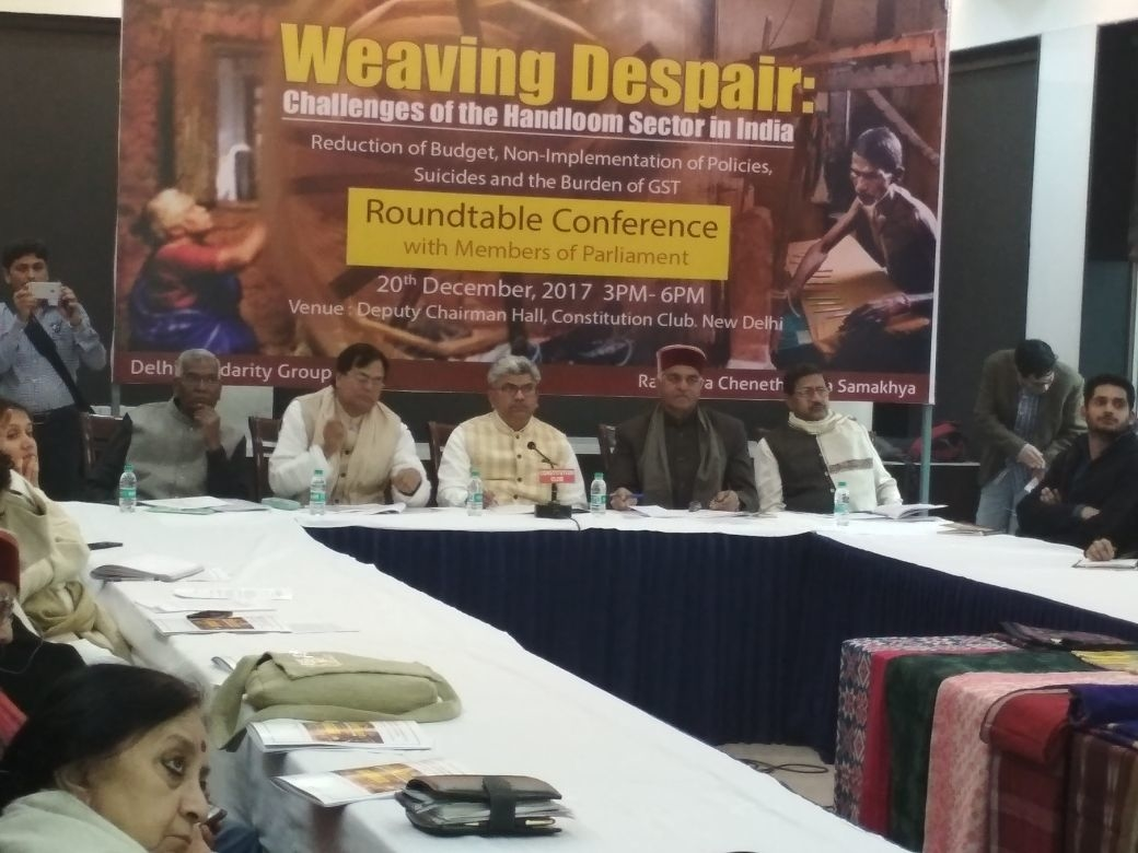 Weaving Despairs: The Challenges of the Handloom Sector in India