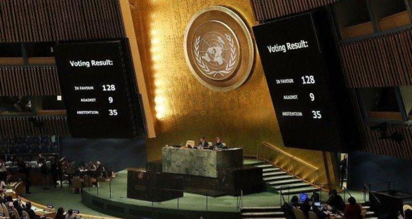 UN General Assembly Rejects Trump's Jerusalem Move With Resounding Majority
