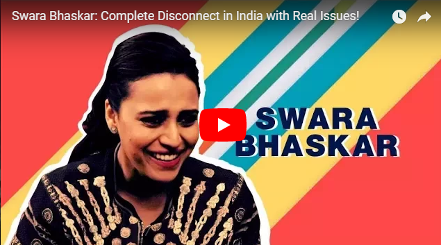 Swara Bhaskar on Farmers' Distress and the Complete Disconnect in India with Real Issues!