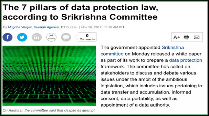 Is Srikrishna Privileging Privacy Over Free Speech?