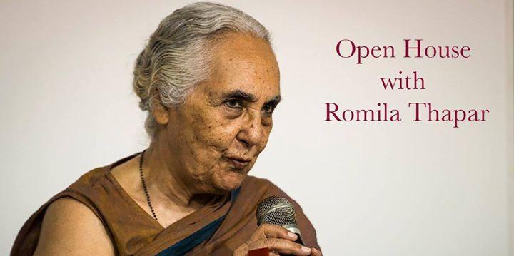 """Borders only become borders when cartographies come into existence"" – Professor Romila Thapar"