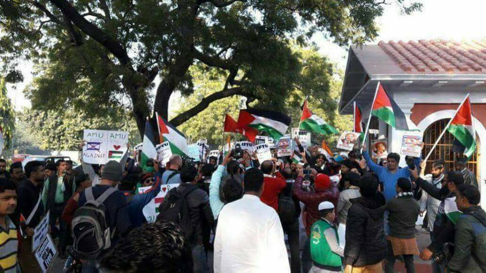 Besieging the Siege: Report from the Protest Against Benjamin Netanyahu's Visit to India