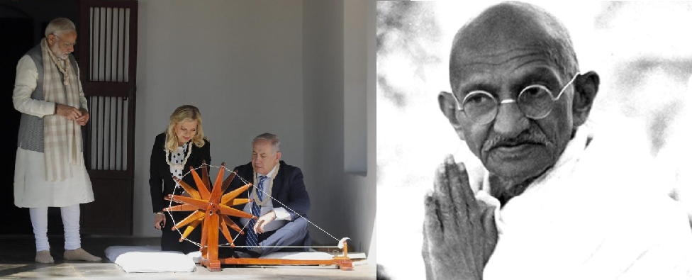 Modi-Bibi in Sabarmati: What the Media Won't Tell You about Gandhi's Views on Palestine and Israel