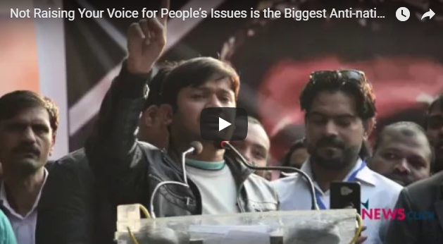 Not Raising Your Voice for People's Issues is the Biggest Anti-national Act: Kanhaiya Kumar