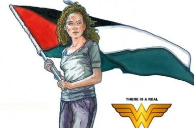 """A real wonder woman"": Artist Behind Che Guevara's Iconic Poster Paints Ahed Tamimi"